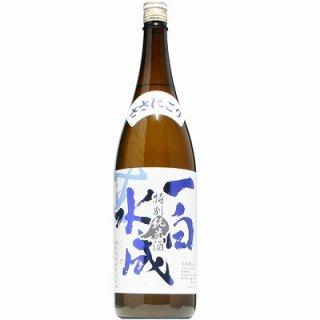 【日本酒】一白水成 特別純米 ささにごり 生  1800ml