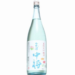 【日本酒】会津中将 夏吟醸 1800ml