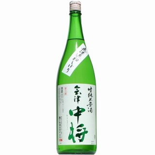 【日本酒】会津中将 純米 初しぼり 生原酒 1800ml