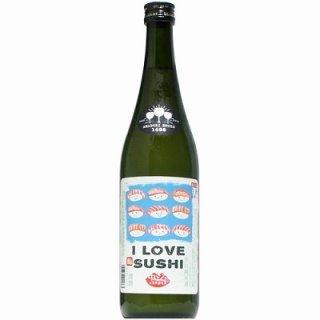 【日本酒】天吹 純米辛口 I LOVE SUSHI 中トロ 生 720ml【予約販売】8月19日入荷予定