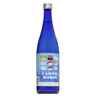 【日本酒】天吹 純米辛口 I LOVE SUSHI 720ml