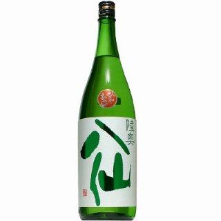 【日本酒】陸奥八仙 緑ラベル 特別純米 ひやおろし 1800ml 2020【予約販売】8月20日入荷予定