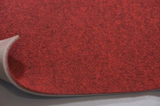 PUFパンチカーペット/ファイヤーレッド/幅182cm カット販売