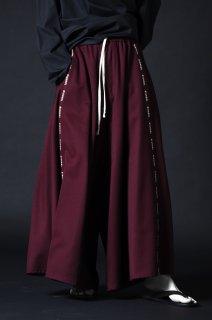 Wool Gabardine Liberty Line Pants wine
