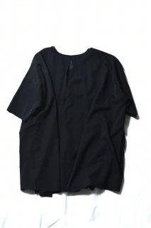 Wool Gabardine Liberty Pullover black
