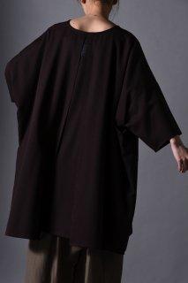 Wool Gabardine Liberty Pullover brown
