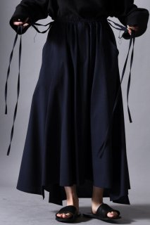 Tropical Wool Unisex 袴 Skirt navy