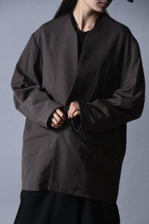 Wool Gabardine 01 Rapel Jacket mocha