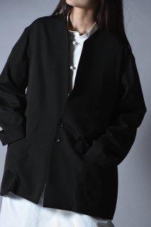 Wool Gabardine 01 Rapel Jacket dark khaki