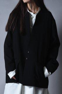 Wool Gabardine 01 Rapel Jacket black