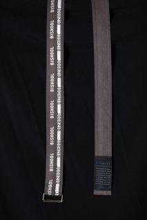 Wool Gabardine BISHOOL Belt mocha