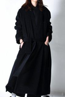 Angora Wool KIMONO Long Coat
