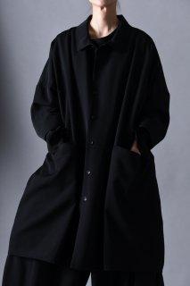 Wool Gabardine Big Shirt