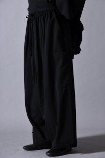 Wool Gabardine Goto-Gi Pants
