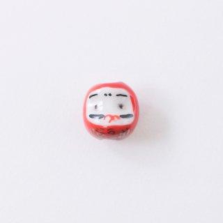 陶玉ビーズ 福だるま(1個入り)