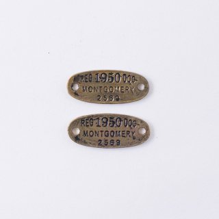 アンティークゴールドピューターパーツ AC446(2個入り)