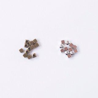 ブラスビーズ 3mm×3mm(12個入り)