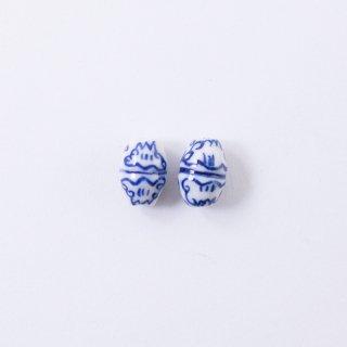 染付ビーズ AC923(2個入り)