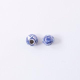 染付ビーズ AC930(2個入り)