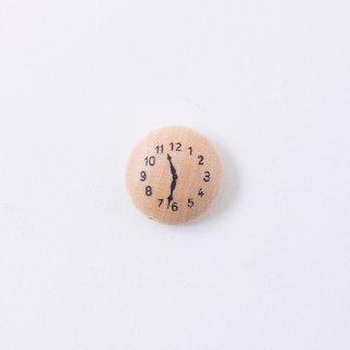 チェコの森のウッドパーツ 時計(1個入り)