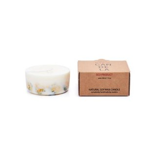<img class='new_mark_img1' src='https://img.shop-pro.jp/img/new/icons15.gif' style='border:none;display:inline;margin:0px;padding:0px;width:auto;' />Soy Wax Candle Marigold flowers | MUNIO CANDELA