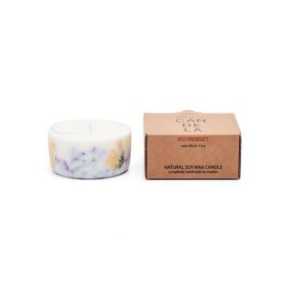 <img class='new_mark_img1' src='https://img.shop-pro.jp/img/new/icons15.gif' style='border:none;display:inline;margin:0px;padding:0px;width:auto;' />Soy Wax Candle:Wild flowers Rose  | MUNIO CANDELA