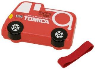 子供用 立体 弁当箱 310ml トミカ 消防車|電子レンジ対応/LBD2_121685