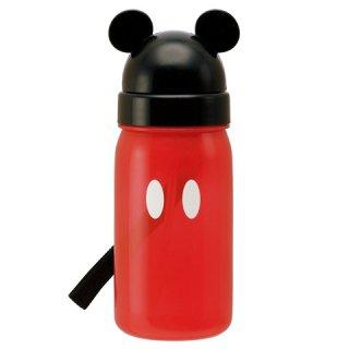 キャラクター型 ストロー式ボトル 350ml ミッキーマウス|子供用/PBS3ST_160271