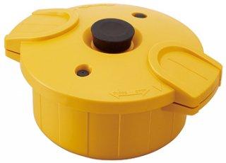 電子レンジ圧力鍋【極み味】イエロー/MWP1_239571