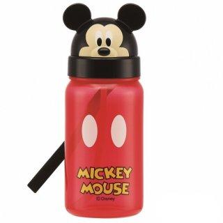 キャラクター型 ストロー式ボトル 350ml ミッキーマウス|子供用/PBS3STD_386336