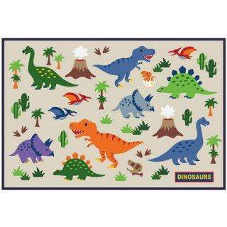 コンパクト レジャーシート Sサイズ 1人用【こども用】 ディノサウルス DINOSAURS/VS1_442674