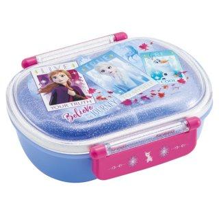 名前シール付 小判型 ふわっとお弁当箱 360ml アナと雪の女王2|食洗機対応|電子レンジ対応/QAF2BA_476822