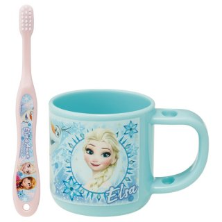 スタンド付コップ歯ブラシセット アナと雪の女王/KTB5_499357