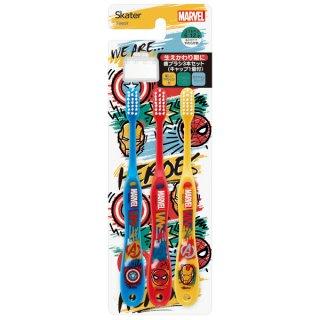 歯ブラシ3本セットキャップ付 マーベル ICON/TB6ST_499326