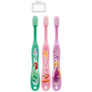 園児用歯ブラシ3Pキャップ付 プリンセス/TB5ST_506987