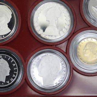 イタリア プルーフコイン 11枚セット(銀貨2枚入り) 1986年