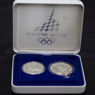イタリア トリノオリンピック記念銀貨 プルーフセット 2006年
