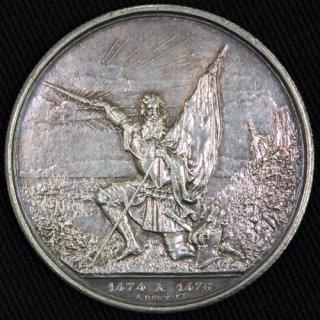スイス Switzerland 【射撃祭】 ザンクト・ガレン Sankt Gallen 5フラン銀貨 1874年