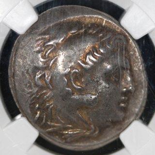 古代ギリシャ トラキア アレクサンドロス3世 テトラドラクマ 紀元前280〜200年 NGC XF