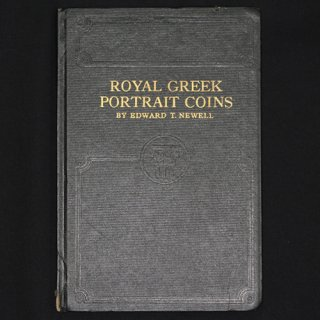 ROYAL GREEK PORTRAIT COINS 著者 EDWARD T. NEWELL 1937年