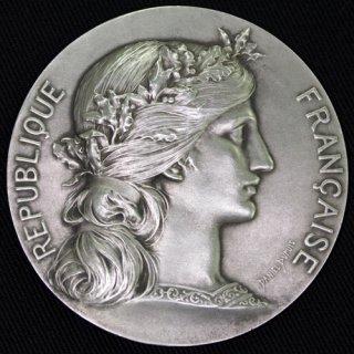 フランス マリアンヌ 銀メダル Marianne Award Medal