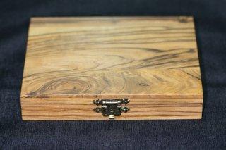 コインケース オリーブウッド OLIVE WOOD BOX 3枚収納 イスラエル製