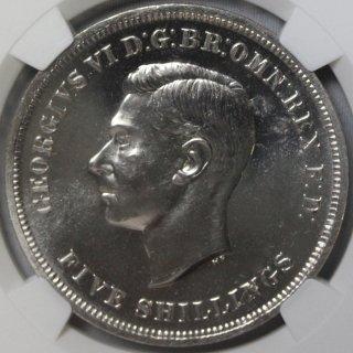 イギリス Great Britain ジョージ6世 英国祭 クラウン白銅貨 1951年 NGC PL64 プルーフライク