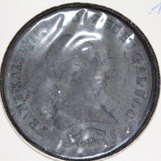 オーストリア Austria フランツ2世 3クロイツァー銅貨 1812年B