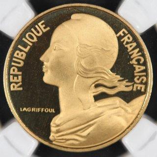 フランス France 第五共和政  マリアンヌ 10サンチーム金貨 ピエフォー 1978年 NGC PF66 ULTRA CAMEO
