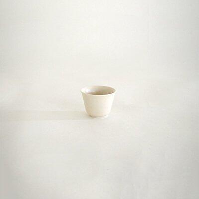 堀仁憲 白磁 茶杯