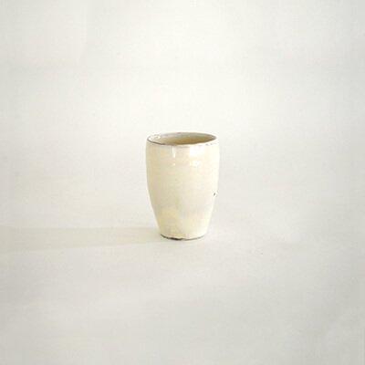 増田勉 粉引 ロングカップ