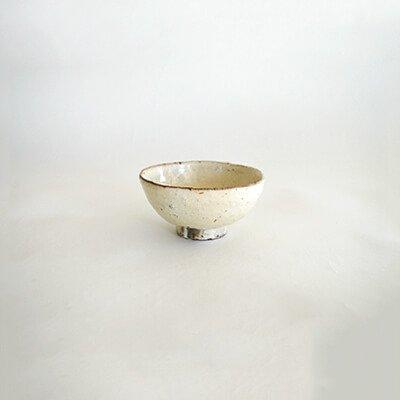 鶴野啓司 粉引 飯碗
