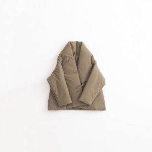 綿入れジャケットコート