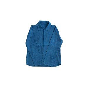 本藍メンズシャツ
